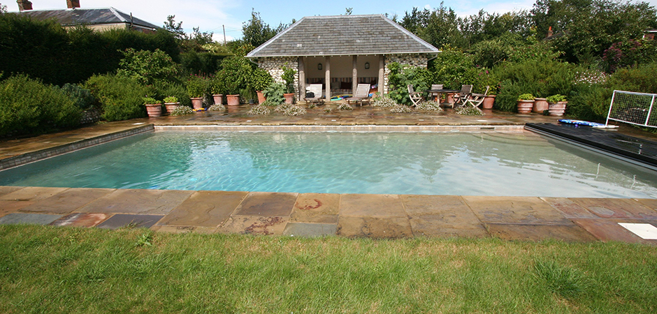 Vaughan pool & summerhouse